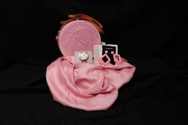 pretty in pink raffle